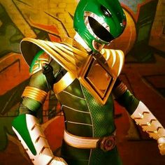 The new Green Ranger suit from Super Power Beat Down from Bat in the Sun!
