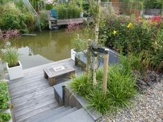 Garden on the water Though ancient in strategy, this pergola is having a modern-day rebirth