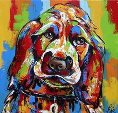 Puppy - www.vrolijkschilderij.nl