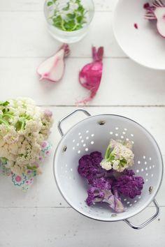 Purple Cauliflower...who knew!?