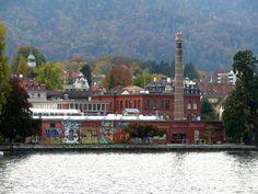 Rote Fabrik Wollishofen Zurich