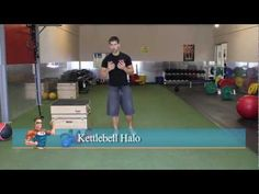 Kettlebell Core Exercise — The Halo... He has very descriptive & easy to follow instructions.