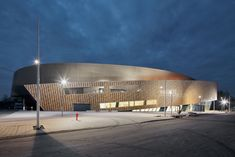 daniel libeskind conference center mons international congress xperience designboom