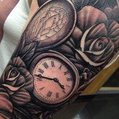 8 best timeless clock tattoo designs images on pinterest clock