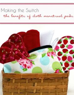 Making the switch to cloth menstrual pads Aunt Flow, Reusable Menstrual Pads, Green Living Tips, Cloth Pads, Magazines For Kids, Sewing Projects, Sewing Ideas, Kids Christmas, Baby Items