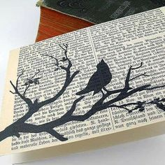 this would be awesome with old To Kill A Mockingbird pages...maybe in a library/guest room