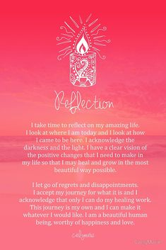 Pinterest : @MazLyons Affirmation - Reflection by CarlyMarie