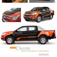 Create an Eye Catching Car/Truck Wrap Design for ActivDesk by chrysther