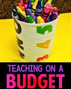 Teaching on a Budget