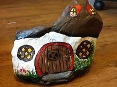549 best images about CRAFTS - Rock Painting - Houses on Pinterest ...