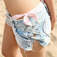A cute cheap solution for my now too small shorts/jeans I can't bring myself to get rid of