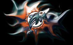 Miami Dolphins Glossy Wallpaper