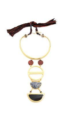 Lizzie Fortunato Object d'Art Necklace