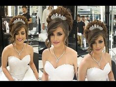 Beautiful Wedding Hair [Bride] by Mounir Salon #2 - YouTube