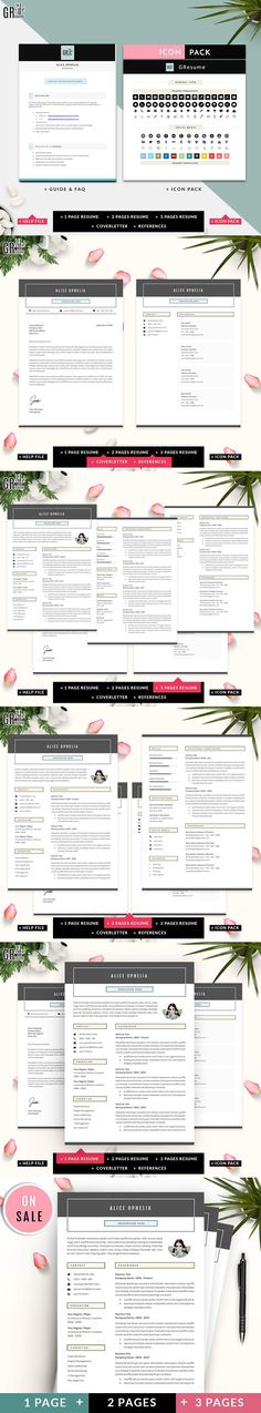 Smoothie - Creative Personal Resume CV Template Cv template - personal resume template