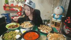 """Welcome to the world of """"mok-bang,"""" a mash up of the Korean words for """"eating"""" and """"broadcast."""""""