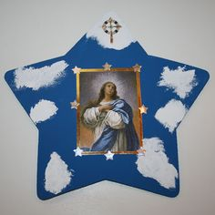 AUGUST   Shower of Roses: Simple star craft for the Solemnity of the Assumption of Mary.