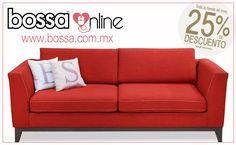 Consiente a tu persona favorita este 14 de febrero, con muebles estilo nórdico y moderno, como el sofá Roberta que fue creado para brindar confort.  ¡Descansa, disfruta y relájate con Bossa Muebles! *Aplican restricciones*