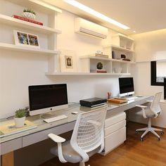 """""""Projeto Hildebrand Silva #assimeugosto #homeoffice #escritorio #decoração"""""""