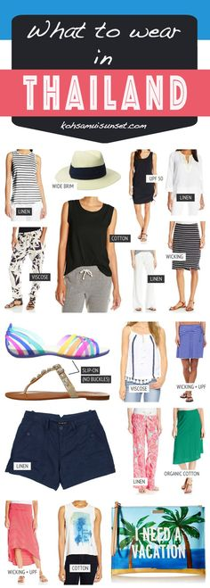 What to wear in Thailand? Dress code tips for Thai beach towns like Phuket, Krabi, Koh Samui and more