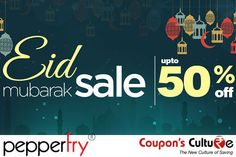 #Pepperfry #Offer Upto 50% Off on #Furniture  #HomeFurnishings #Kitchenware. Shop Now #EidMubarak #Eid