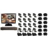 16 Channel Wireless DVR Complete System with a Monitor