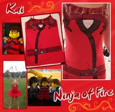 Ninjago Tanks WIP 9: Kai Photos by Fanfiction-Princess.deviantart.com on @deviantART