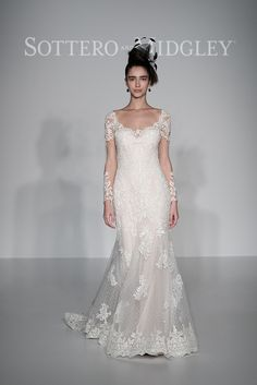 Check out some of our best picks from the #NYIFW and #THEPIERS. New York International Fashion Week showcased some of the best dress designs for bridal. Check out our featured dresses at http://www.latinobrideandgroom.com/maggie-sottero-bridal-market-spring-2017/ or click on the image! Sottero & Midgley: Style - Melrose