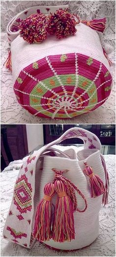 Crochet Bags Patterns Crochet Bags Patterns - Every girl desires to have a gorgeous looking handbag in her hands. Handbags and purses are not only useful items for carrying your things … Crochet Case, Crochet Shell Stitch, Tapestry Bag, Tapestry Crochet, Crochet Handbags, Crochet Purses, Crochet Crafts, Crochet Projects, Mochila Crochet