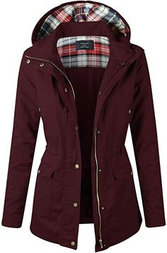 Find makeitmint Women's Plaid Hood Detail Anorak Utility Jacket w/Pockets online. Shop the latest collection of makeitmint Women's Plaid Hood Detail Anorak Utility Jacket w/Pockets from the popular stores - all in one