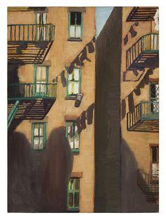 Alice Neel: Paloportaat, Estate of Alice Neel. Kuva: Malcolm Varon, New York © Estate of Alice Neel American Art, Art Painting, Cityscape Art, Museum Of Fine Arts, Alice, Painting, National Gallery Of Art, Art, Cityscape Painting