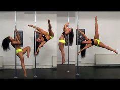 Strength Training & Flippy Tricks: Regaining Lost Power [Aug/Sep E. Pole Dance Moves, Pole Dancing Fitness, Pole Fitness, Barre Fitness, Fitness Exercises, Barre Workout, Flexibility Workout, Dance Training, Strength Training