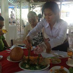 Lunch Mekong Delta village