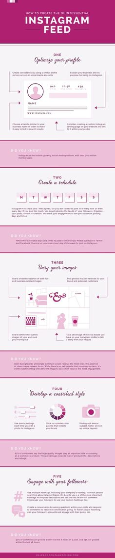 How to Create the Quintessential Instagram Feed - Elle & Company