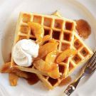 Try the Cinnamon Waffles with Caramelized Apples Recipe on williams-sonoma.com