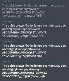 Firefox OS Free Typeface, #Firefox, #Free, #Graphic #Design, #OTF, #Resource, #Sans_Serif, #TTF, #Typeface, #Typography, #Web_Font