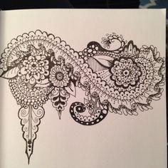 Small Tangle Doodle, Tangle Art, Zentangles, Tangled, Doodles, Hands, Shoulder Bag, Journal, Drawings