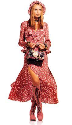 Anna Sui/Macy's/Bullock's, American Vogue, April 1993.