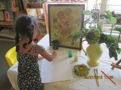 Van Gogh art project.