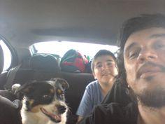 Flopo y Coral de copilotos en el rally Buenos Aires - Bahía