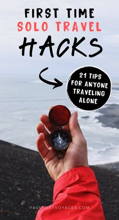First Time Solo Travel Hacks You Need To Know When you're traveling alone, you may encounter unique challenges and situations. These 21 pro tips from experienced solo travelers will help make your whole trip much more safe and fun! Solo Travel Tips, Travel Advice, Travel Quotes, Travel Guide, Travel Hacks, Travel Ideas, Wanderlust Quotes, Slow Travel, Koh Tao