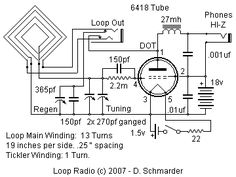 Loop Radio Schematic