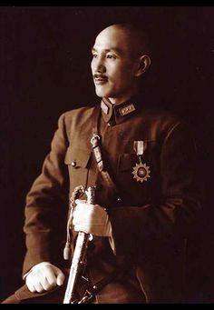 Generalissimo Chiang Kai-shek, Allied Commander-in-Chief in the China theatre from 1942 to 1945.