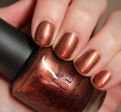 Brisbane Bronze is the perfect OPI Autumn colour! #autumn #OPI #nails