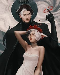 Character Creation, Character Concept, Character Art, Apollo And Hyacinth, My Romance, Hades And Persephone, Final Fantasy Xiv, Angels And Demons, Pictures To Draw