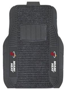 Miami Heat Car Mats - Deluxe Set