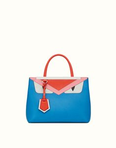 FENDI | PETITE 2JOURS multicolor leather tote bag