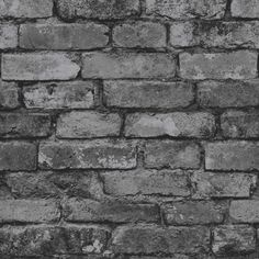 Fine Decor Rustic Brick Wallpaper - Black, Grey and Silver - http://godecorating.co.uk/fine-decor-rustic-brick-wallpaper-black-grey-silver-2/ Flats, Flat Ideas, Loafers & Slip Ons, Flat Shoes, Ballet Flats, Apartments