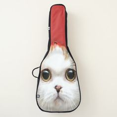 Animal Print Cute Kitty Humor Guitar Case - humor funny fun humour humorous gift idea