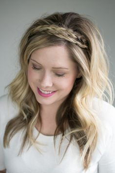 The double braided headband (2 ways to style it!)